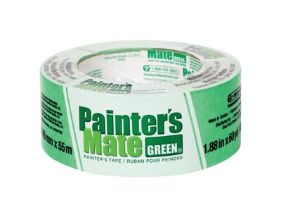 Painter's Mate 1.88 in. W x 60 yd. L General Purpose Painter's Tape Medium to High Strength Gree