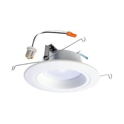 Halo 600 lumens 10.5 watts 3000 K Retrofit Kit Module and Trim 65 watts equivalency Medium Base (E