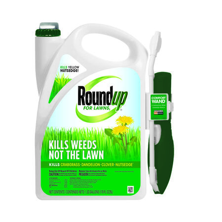 Roundup For Lawns Weed Killer Liquid 1 gal.