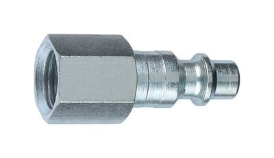 Tru-Flate Steel Air Plug 3/8 in. FNPT Female I/M
