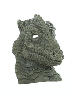 Stone Ornament Dragon Head