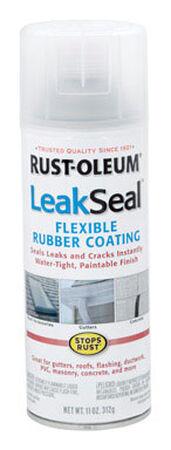 Rust-Oleum LeakSeal Rubberized Flexible Rubber Sealant 11 oz. Clear