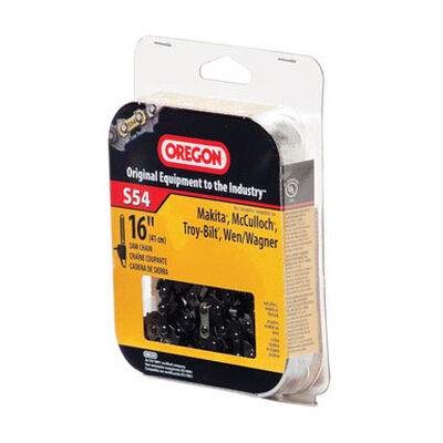 Oregon Chainsaw Chain 54 links 16 in. For Makita McCulloch Troy-Bilt Wen/Wagner 91 Low Profile