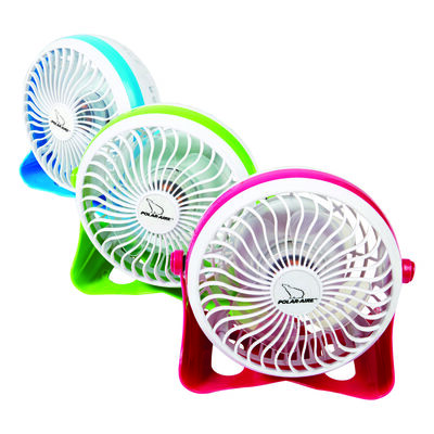 Home Plus Personal Fan 6 in. H x 4 in. L x 6 in. W x 4 in. Dia. 1 speed Electric 4 blade Assorted