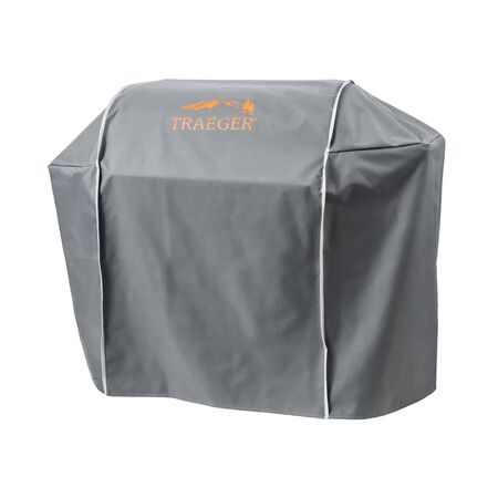 Traeger Gray Grill Cover For Ironwood 885-TFB89BLE 26.7 in. W x 48 in. H