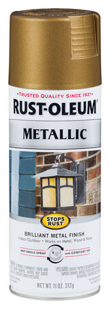 Rust-Oleum Stops Rust Champagne Bronze Metallic Spray Paint 11 oz.
