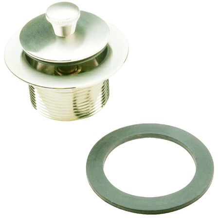 Ace 1-1/2 in. Dia. Nickel Round Brushed Nickel Roller Ball Assembly Brushed
