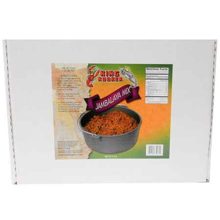 King Kooker 7-1/2-Pound Party Size Jambalaya Mix