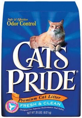 Cat's Pride Odor Control Cat Litter Fresh and Clean Scent 20 lb.