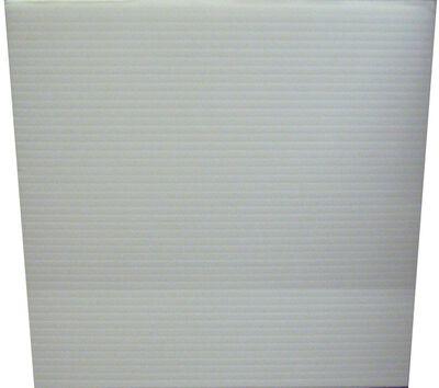 Plaskolite Single Corrugated Plastic Sheet 24 in. W x 48 in. L x .157 in.
