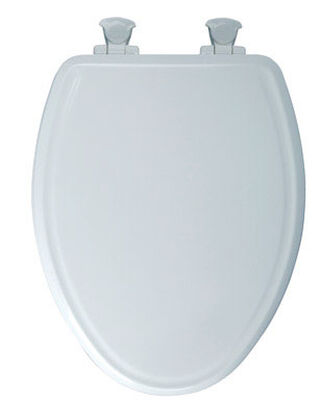 Mayfair Wood Slow Close Toilet Seat Elongated White