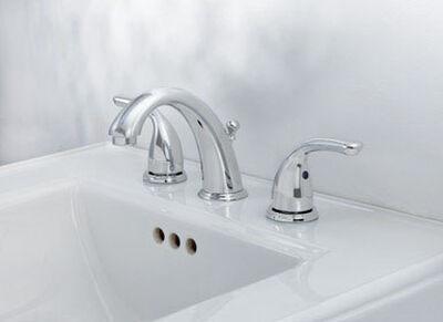 OakBrook Coastal Widespread Lavatory Pop-Up Faucet Widespread in. Chrome