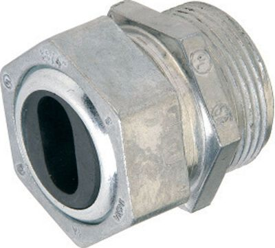 Gampak Sigma Watertight Cable Connector Silver 3/4 in. Dia. 1