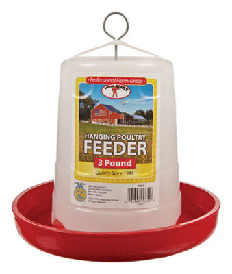 Little Giant 3 lb. Poultry Feeder