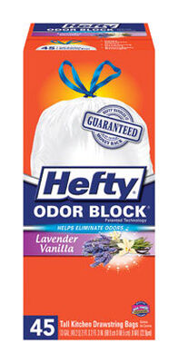 Hefty Tall Kitchen Bags 13 gal. .9MIL 45 pack