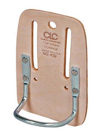 CLC 1 Tan Leather Hammer Holder 5.8 in. H x 3.9 in. L x 2.5 in. W