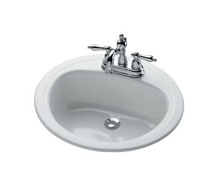 Bootz Bayside Round 19 Lavatory Sink White