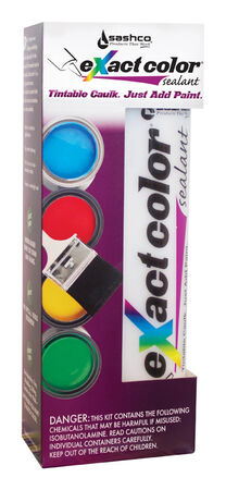 Sashco eXact Color Custom Acrylic Rubber Sealant 9.5 oz.