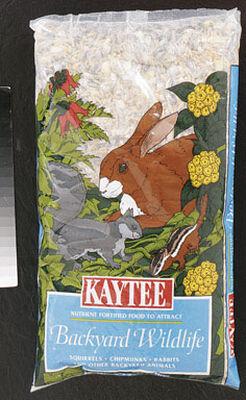 Kaytee Backyard Wildlife Squirrel and Critter Food Oats Wheat Corn 5 lb.