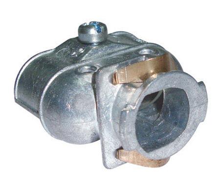 Sigma Snap Lock 3/8 in. Dia. Aluminum Duplex Connector