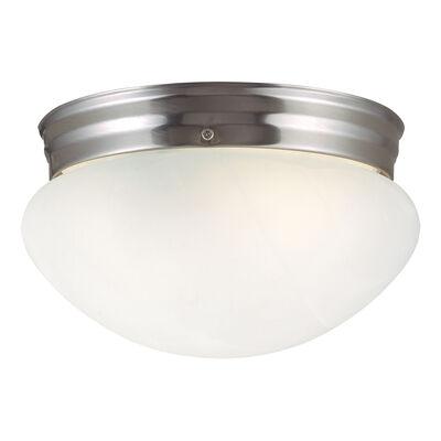 Millbridge 1-Light Ceiling Light, Satin Nickel #511576