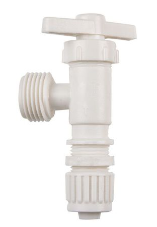 Flair-It 1/2 in. Dia. x 3/4 in. Dia. Washing Machine Valve Plastic