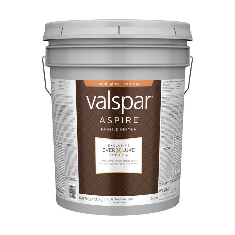 Valspar Aspire Exterior Acrylic Latex Paint & Primer 5 gal