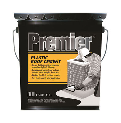 Premier Asphalt Plastic Roof Cement 4.75 gal. Black