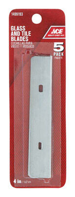 Ace Steel Scraper Blade 4 in. W