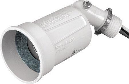 Sigma White 5-5/16 in. L x 2-3/8 in. H Lamp Holder