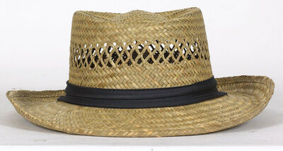 Dorfman Pacific Natural Ladies Straw Hat Assorted Sizes Straw