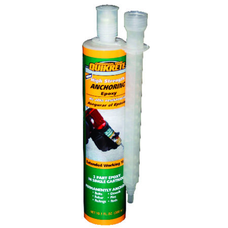 Quikrete High Strength Epoxy High Strength Anchoring Epoxy 8.6 oz.