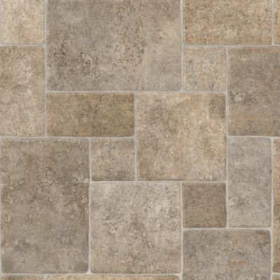 Cobblestone Cushioned Vinyl - Sold by the Sqft