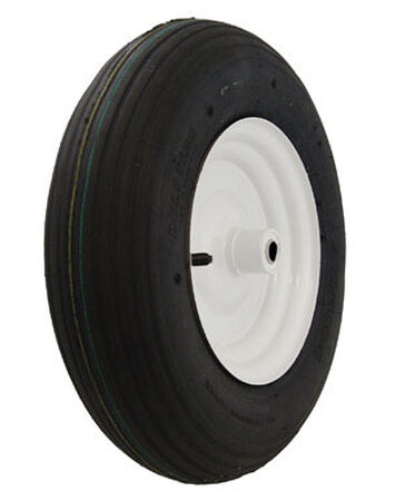 Marathon Wheelbarrow Tire 16 in. Dia. 500 lb. Plastic