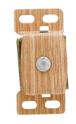 Amerock 1 in. W Aluminum/Wood Aluminum Heavy Duty Magnetic Catch