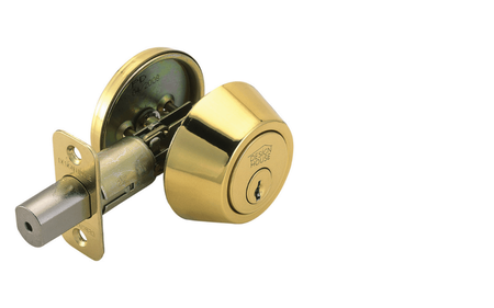 Pro Single Cylinder Deadbolt , Polished