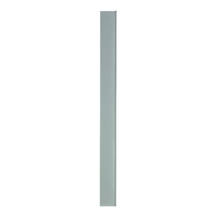 M-D Building Products Cove Wall Base Vinyl 4 in. H x 48 in. W x 1/8 in. D Silver