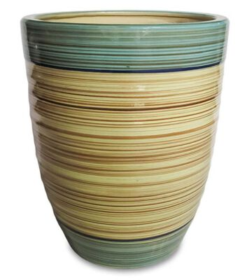"Dijon Tall Egg Pot - 13.75"" Pot"