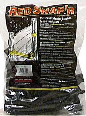 Fi-Shock Electric Electric Fence Insulator 25 pk Yellow