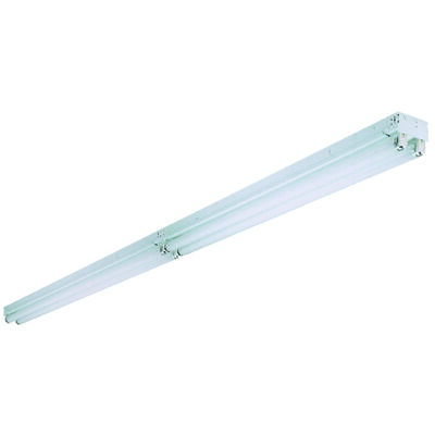 Lithonia Lighting 96 in. L x 2-15/16 in. H x 4-3/8 in. W Fluorescent Light Fixture T8 Tandem