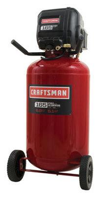 Craftsman Vertical Air Compressor 165 psi 1.7 hp
