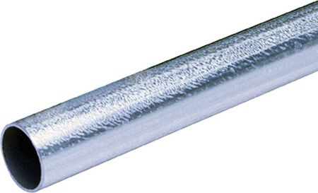 Allied Moulded 1-1/4 in. Dia. x 10 ft. L Electrical Conduit EMT Galvanized Steel