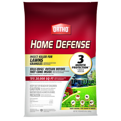 Ortho Home Defense for Lawns Insect Killer For Fleas Spiders and More 20 lb.