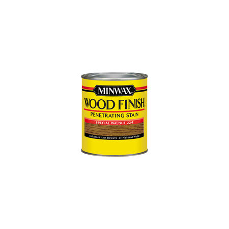 Minwax Wood Finish Semi-Transparent Special Walnut Oil-Based Wood Stain 0.5 pt.