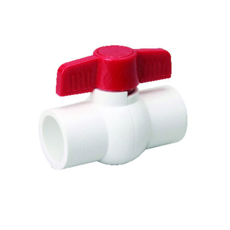 Mueller Ball Valve 1-1/4 in. Dia. PVC Ball