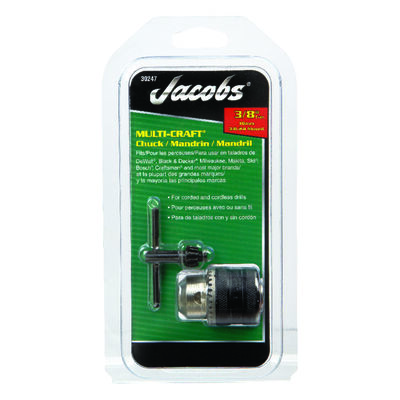 Jacobs 3/8 in. Drill Chuck