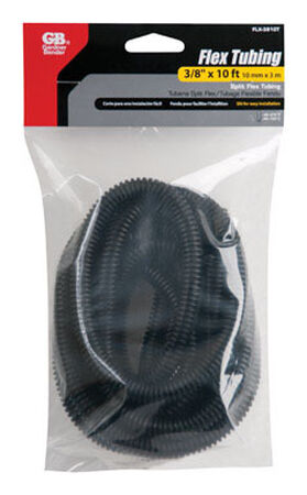 GB Flex Tubing 3/8 in. X 10 ft. Black Bagged