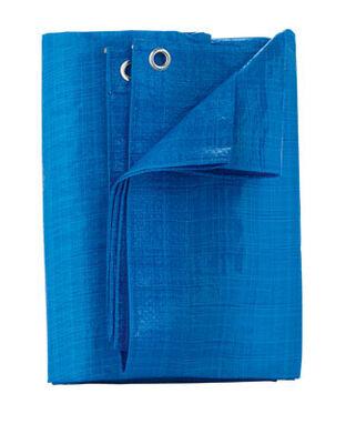Home Plus Light Blue Light Duty Tarp 6 ft. W x 8 ft. L