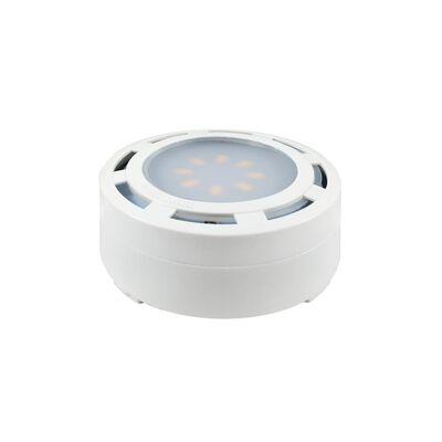 AmerTac Plug-In LED Under Cabinet Light Puck White 600