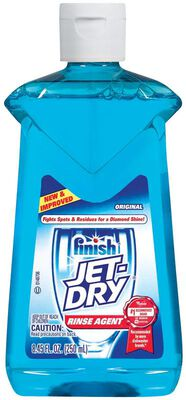 Finish Jet-Dry 9 oz. Original Scent Liquid Dishwasher Rinse Agent